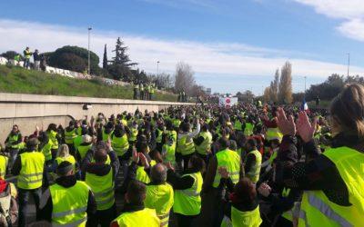 Soutien au RIC: marcheurs versParis